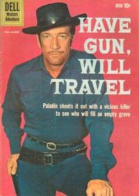 Have gun will travel comic