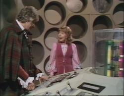 Doctor who 60 curse peladon tardis
