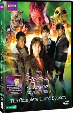 Sarah Jane Adventures 3 dvd