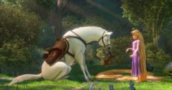 Tangled horse