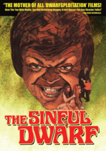 The sinful dwarf -poster