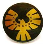 Bb561pb03 Shield Gold Eagle