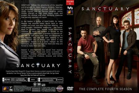 Sanctuary season 4 dvd