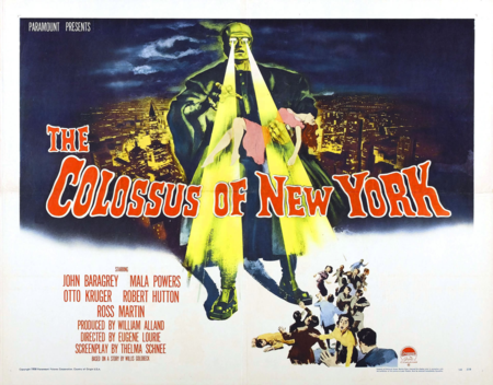 Colossus of new york poster