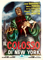 Colossus of new york foreign poster a