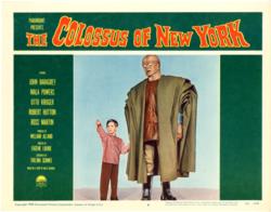 Colossus of new york kid and robot
