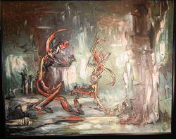 Van dercar painting