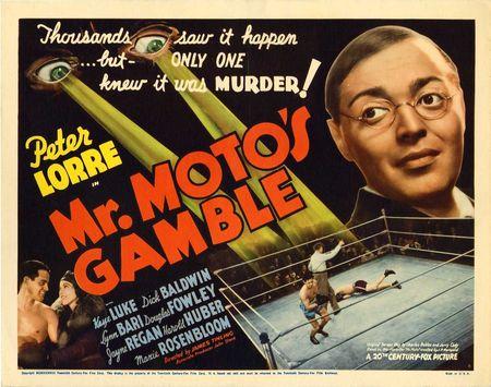 Mr. Moto's Gamble hor