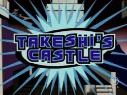 Takeshi's castle logo