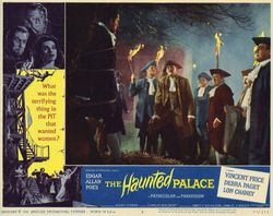 The haunted palace lobby card