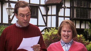 Little britain politician and his wife