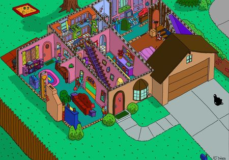 Simpson__s_house_cutaway_first_floor_by_ajdelong-d5di5hs
