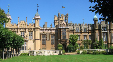 Horror hospital Knebworth house