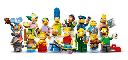 Simpsons coll minfigs a