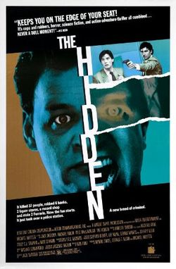 The Hidden poster1987