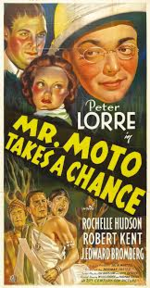 Mr moto takes a chance poster