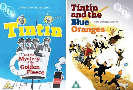 Tintin-mystery-golden-fleece an blue oranges