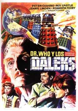 Dr who and the daleks dvd