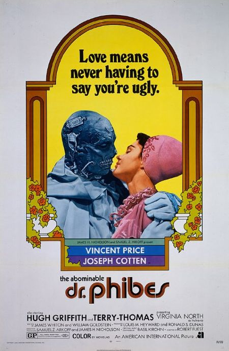 The Abominable Dr Phibes poster