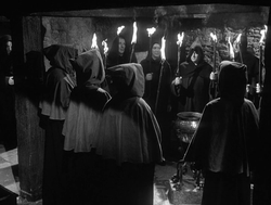 Witchcraft coven