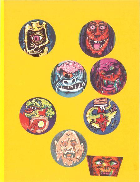 PRIMITIVE SCREWHEADS: Horror Stickers