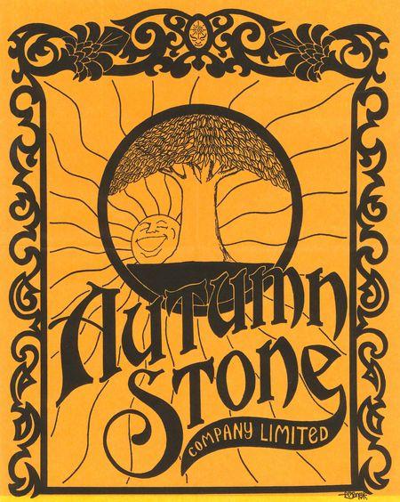 Autumn stone bag