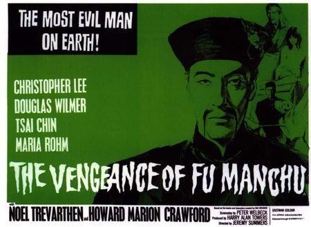 Vengeance of fu manchu hor