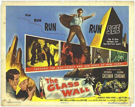 The glass wall 1953