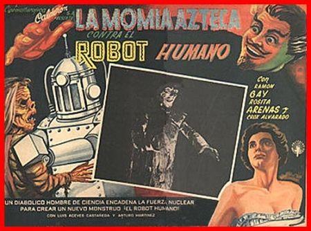 Aztec mummy vs human robot_11258767989