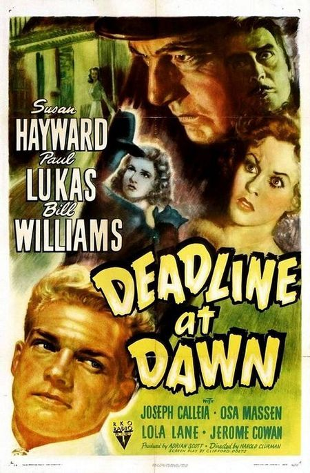 Deadline at dawn 1946 poster
