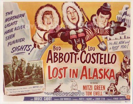 Lost in Alaska 1952 hor poster