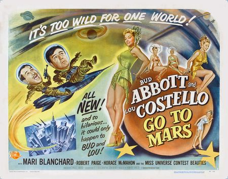 Abbott And Costello Go To Mars 1953 d