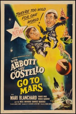 Abbott And Costello Go To Mars 1953