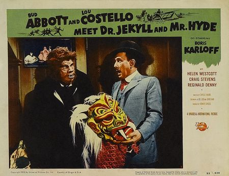 Abbott and Costello Meet Dr. Jekyll and Mr. Hyde lobby