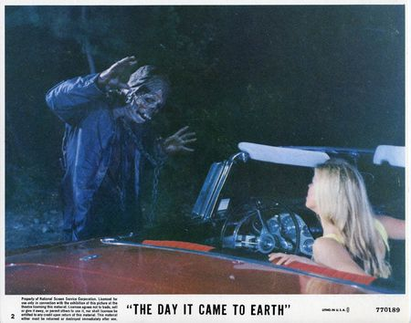 The day it came to earth lobby