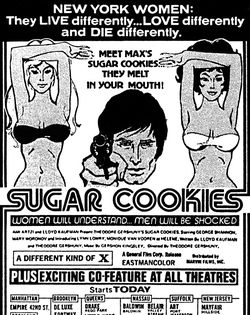 Sugar cookies BW ad