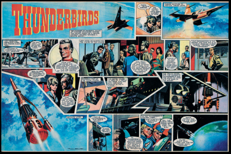 Thunderbird comic