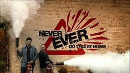 Never Ever Try This At Home logo