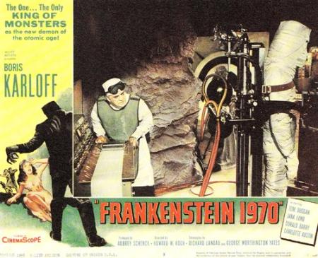 Frankenstein 1970 lobby