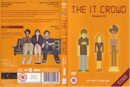 The it crowd series 2 dvd cover
