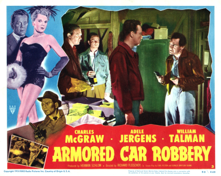 Armored Car Robbery (1950) poster 3