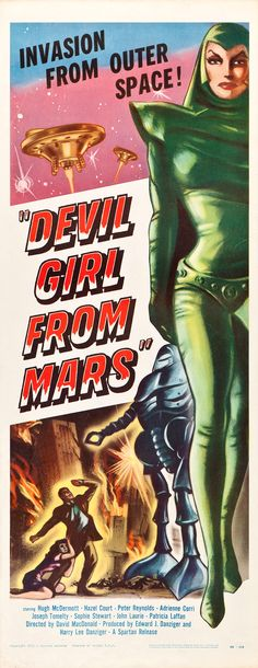 Devil gril from mars b