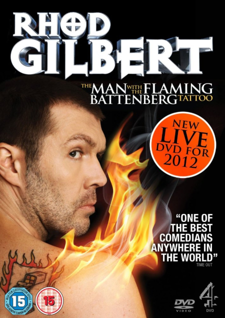 Rhod gilbert the man with the battenberg tattoo