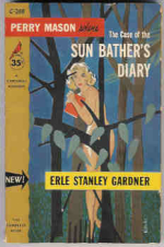 The Case Of The Sun Bather's Diary by Erle Stanley Gardner