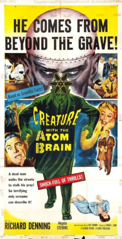 Creatre with the atom brain