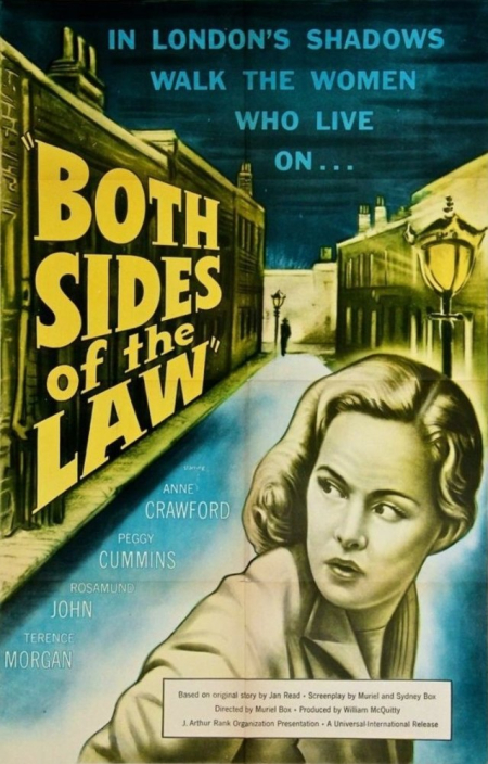 Street corner - both sides of the law 1953