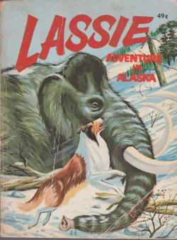 Lassie - Adventure In Alaska by George S Elrick Whitman Big Little Book 5754
