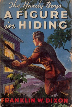 A Figure In Hiding by Franklyn W Dixon