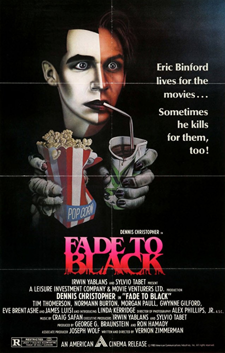 Fade to black 1980 poster