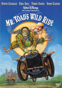 Mr toad's wild ride Disney re-title